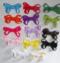 Mini Hair Bow You Pick 4 $3.25