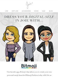 Dress your Digital Self in a Joie Bitmoji - Joie
