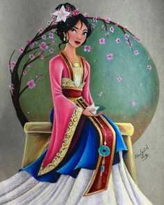 Mulan is finished, wearing her current outfit found at the Disney Parks …