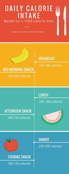 Learn how to count calories and lose weight with this easy 1,200 daily meal plan!: