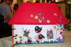 laterales de casitas patchwork - Buscar con Google