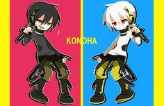Kagerou Project - Kuroha and Konoha