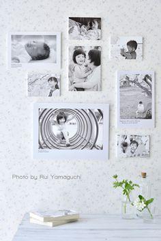 《ウォールデコ》壁に写真を飾る時に簡単なコツ|写真で思い出溢れる暮らし- 福岡のフォトスタイリング&写真教室 Petit Works-プチワークス-