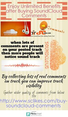 Get great support for your sound track promotion after collecting plenty comments on track. #Buy #SoundCloud #comments service is the great source to carry out large number of comments. Through this service your track will get good promotion level.