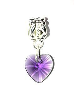 Kristall Herz-Bead, facettiert violett Dreamlife http://www.amazon.de/dp/B0178CZ700/ref=cm_sw_r_pi_dp_SwQtwb0617XRD