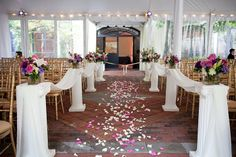 All In One Wedding Ceremony Reception Decatur House Tented