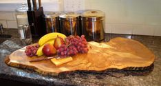 24 Inch Spaulted Maple Serving Board