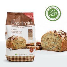 Sukrin Fiber Bread Mix. Το Fiber bread mix της Sukrin είναι ένα μείγμα ψωμιού χωρίς γλουτένη, έτοιμο για ψήσιμο. Προσθέστε μόνο νερό και ψήστε στο φούρνο, απολαμβάνοντας ψωμί με υπέροχη γεύση, χορταστικό και με ελάχιστους υδατάνθρακες! Bread Mix, Fiber, Food, Low Fiber Foods, Eten, Meals, Diet
