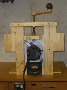 Horizontal Router Table from scraps - by lightweightladylefty @ LumberJocks.com ~ woodworking community