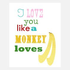 Monkeys Love Bananas now featured on Fab.