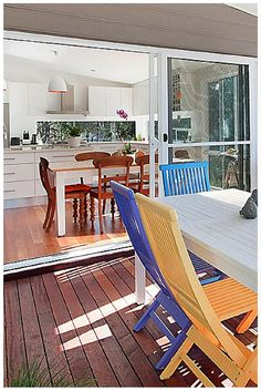 90 degree Sliding Stacking Doors by Wideline. Home by Mojo Homes. . wideline.com.au | Stacker Doors | Pinterest | 90 degrees Doors and Door curtains & 90 degree Sliding Stacking Doors by Wideline. Home by Mojo Homes ...