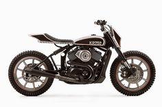 Harley 750 street tracker
