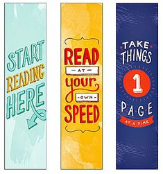 Free Printable Bookmarks. For more book fun, follow us on Pinterest…