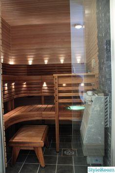 Sauna would be soo nice Sauna Design, Outdoor Sauna, Spa Rooms, Sauna Room, Guest Bathrooms, Saunas, Contemporary Home Decor, Bathroom Layout, Home Fashion