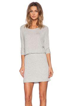 Ella Moss Icon Dress in Heather Grey | REVOLVE