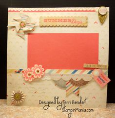 The Pier Layout by TBendert - Cards and Paper Crafts at Splitcoaststampers