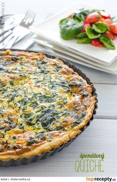 Tart Recipes, Veggie Recipes, Vegetarian Recipes, Healthy Recipes, Cooking Light, Easy Cooking, Cooking Recipes, Quinoa Enchilada Casserole, Czech Recipes