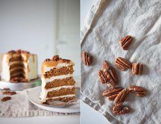 Pecan Caramel Carrot Cake.