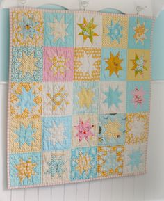 Quilt for Maddie by BlueElephantStitches, via Flickr