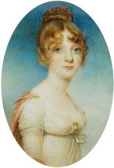 Lady William Grimaldi - How lovely she is! Jane Austen, Miniature Portraits, Regency Era, Empire Style, Mini Paintings, Historical Clothing, Female Art, Art History, Dame