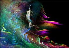 Flug in die Freiheit - BELLA DONNA digital art - BELLA DONNA digital art digital photo manipulation