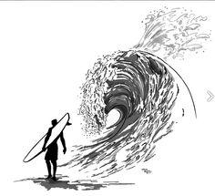 Vague surf