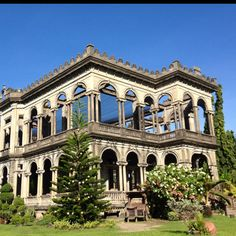 The ruins. Bacolod, Philippines