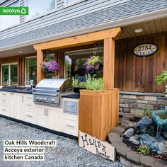 Sustainable, non-toxic, stable and durable timber - Accoya. #Buildingmaterials #timber #design #exteriors #kitchens #outdoors #design #architecture #kitchenideas