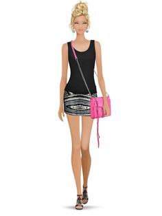 ****Styled with: Madison Harding, Parker, Twenty, Rebecca Minkoff, Dannijo   Create your own look with Covet Fashion