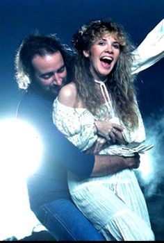 Stevie Nicks with John McVie