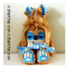 $60.00 Yeehaw Yetirabbit by Wickandbandit on Handmade Australia