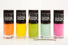 Gorgeous Maybelline polishes in every color under the sun. Photos by Mark Iantosca.