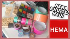 Shop Haul Hema Leuke Washi Tape Collective Haul!! ^-^