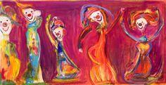 Marianne Aulie Clown Images, Edvard Munch, Madonna, Arts And Crafts, Fine Art, Texture, Clowns, Abstract, Artwork