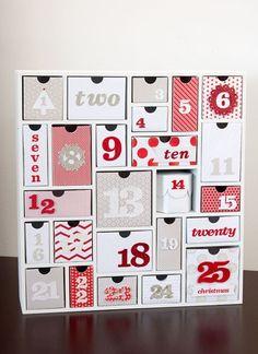 Top 12 Christmas Advent Calenders - Craft-O-Maniac Christmas Calendar, Christmas Banners, Noel Christmas, Christmas Countdown, Christmas Tables, Reindeer Christmas, Modern Christmas, Scandinavian Christmas, Christmas Stockings
