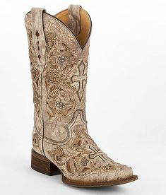 """Corral Chico Cowboy Boot"" www.buckle.com #CowgirlBoots"
