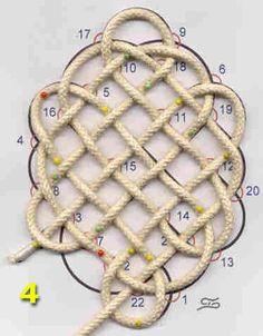 knots46 elliptische mat © theo slijkerman