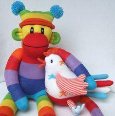 Sunsetgirl Creations makes THE best sock monkeys