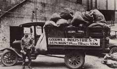 1920's #Goodwill Truck, Donations, Charity