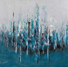 Blue Wash Wall Decor