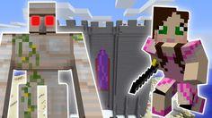 Minecraft- GOLEMZILLA'S DUNGEON OF PAIN MISSION! - Custom Mod Challenge ...