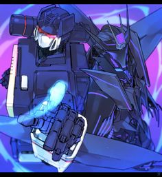 Soundwave -- then and now -- Maybe you can tell who my favorite Decepticon is... :3