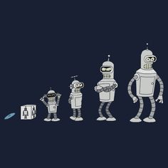 Bender through the years! They grow up so fast! Famous Cartoons, Classic Cartoons, Futurama Bender, American Dad, Bobs Burgers, Film Serie, Comedy Central, Cultura Pop, Anime