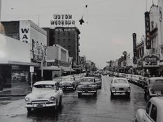 1950s - Upper 10th Street was the main shopping area