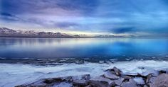 Utah Lake Refreezing 2 1 12 11