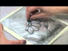 Kitchen Lithography- Make a Lithographic print using household products. Basically, like making your own pronto plates! crazy!!