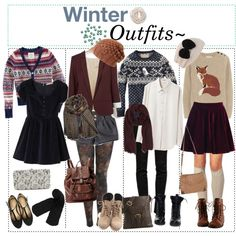 """♡ Winter Outfits. ♡"" by camiiiii on Polyvore"