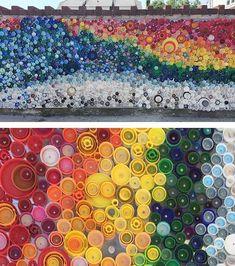 Tips para hacer mosaicos con materiales reciclados