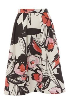 Abstract Floral Scuba Skirt - http://www.romanoriginals.co.uk/invt/70522