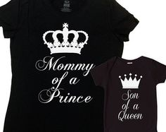 Mother And Son Matching Outfits Mommy And Me by CherryTees on Etsy